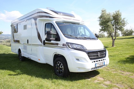 Le profilé Etrusco T7400 QB | Camping-car | Scoop.it