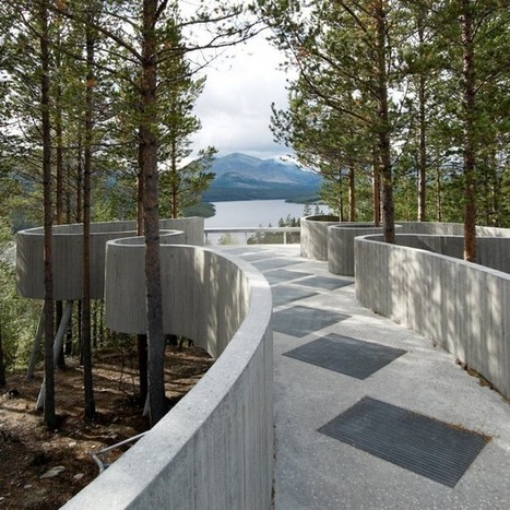 Sohlbergplassen Viewpoint by Carl-Viggo Hølmebakk » CONTEMPORIST | Architecture and Design | Scoop.it