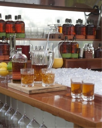 Bulleit Frontier Whiskey Woody-Tailgate Trailer takes tailgate parties ... | Handcrafted Spirits | Scoop.it