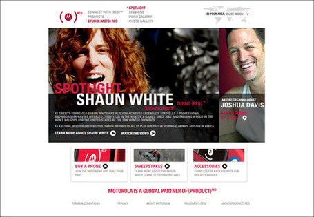 Cross-Platform Marketing Spotlight: Sparrow Hall for Motorola & (RED)™ | Transmedia: Storytelling for the Digital Age | Scoop.it
