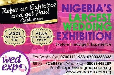 Exclusivetins....: The Nigeria Wedding Exhibition | Nigerian Events | Scoop.it