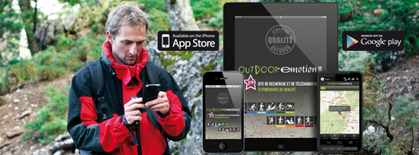 Randonnées numériques avec Outdoor e-motion | eTourisme - Eure | Scoop.it