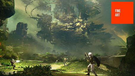 Some Of The Best Video Game Concept Art On The Planet. Enjoy. | Socialart | Scoop.it