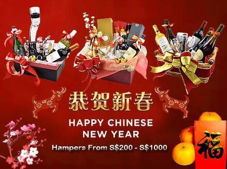 Chinese New Year Hampers Promotion | The Oaks Cellars | Scoop.it