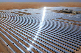 Who needs oil? World's largest solar power plant with 258,000 mirrors opens in Abu Dhabi ~ Why Don't You Try This? | Future Now | Scoop.it