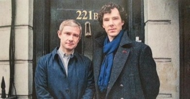 Sherlock Series 3: Leaked picture show Benedict Cumberbatch and Martin ... - Unreality TV | Doyleockian | Scoop.it