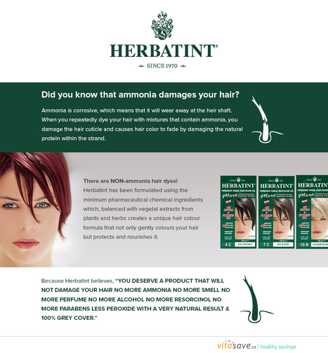 Herbatint - Natural alternative hair color ge   Vitasave - Canada's top online vitamin and supplement store   Scoop.it
