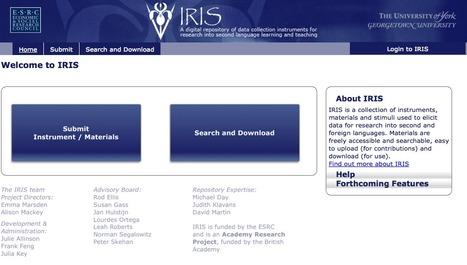 Home Page- IRIS Digital Repository   TELT   Scoop.it
