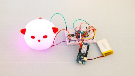 Making IKEA´s Night Light Smart | Open Source Hardware News | Scoop.it