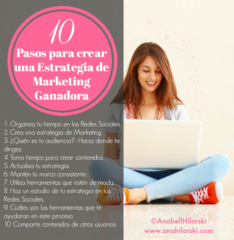 10 Pasos para crear una Estrategia de Marketing Ganadora - @AnabellHilarski | Mente Emprendedora | Scoop.it