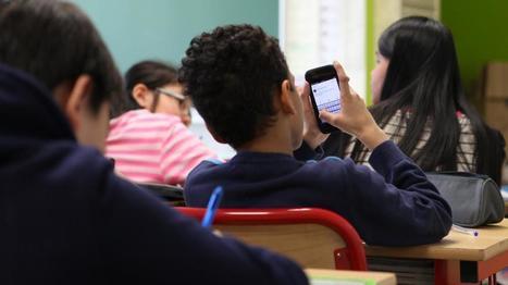 Numérique à l'école : à Paris, une classe connectée grâce au ... - Francetv info | apprenants et numérique | Scoop.it
