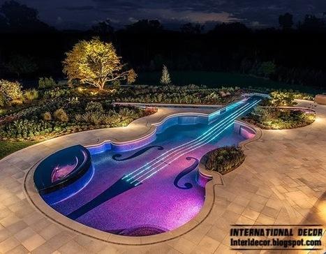 International decor: Outdoor Swimming Pool in the form of a Stradivarius violin   International Decorating ideas   Scoop.it