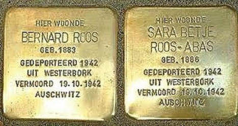 Jewish WWII Victims Memorialized in Groningen With  Golden Stumble Stone / Stolperstein | Holocaust Holland | Scoop.it