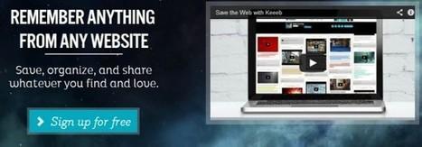 Keeeb, nueva herramienta de curación de contenidos | Educacion, ecologia y TIC | Scoop.it