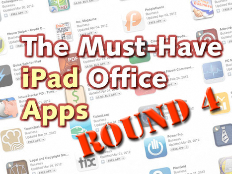 The Best Office Apps for Your iPad, Round 4 | ICT business trends | Scoop.it