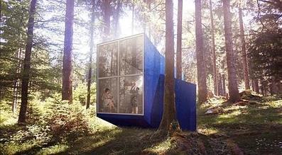 Des stars montantes de l'architecture construisent des cabanes dans le Jura | D'Dline 2020, vecteur du bâtiment durable | Scoop.it