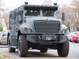 The Montreal police introduce new, $360,000 armoured vehicle, designed to take a pounding from projectiles | defense | Scoop.it