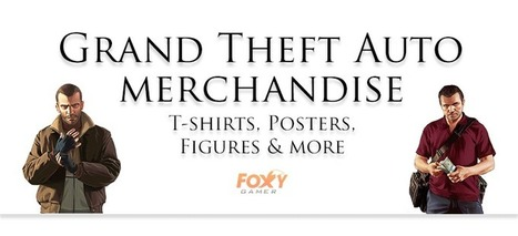Grand Theft Auto Merchandise – Posters, T-shirts & more | Gaming merchandise | Scoop.it