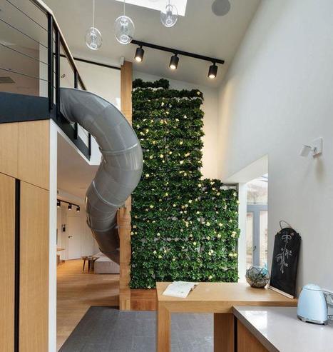 Et si vous craquiez pour le toboggan d'intérieur ? | Construire sa maison avec un architecte | Scoop.it