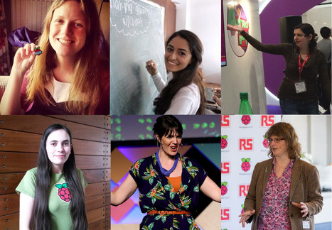 Six women doing excellent things with Raspberry Pi - Raspberry Pi   Arduino, Netduino, Rasperry Pi!   Scoop.it