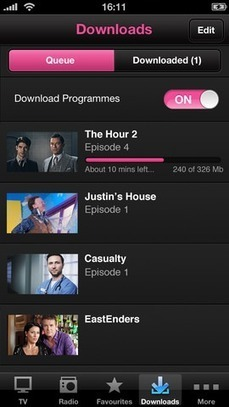 BBC iPlayer iOS app updates, adds Airplay support for Apple TV - Recombu | Second Screen, Social TV, Connected TV, Transmedia and TV Apps Market | Scoop.it