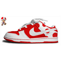 Toadstool Mario Shoes Nike Dunk Low Red White [super-mario-shoes-1010] - $77.00 : DC Comic Dunks ,Marvel Comic Dunks, Superhero Nike Dunks Shoes ,Superman ,Batman ,Spiderman,Captain America Nikes | Hello Kitty Nike Dunks | Scoop.it