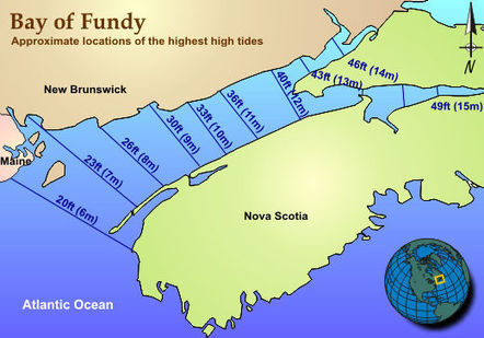 JetStream MAX - An Online School for Weather: Bay of Fundy | Space, place and time | Scoop.it