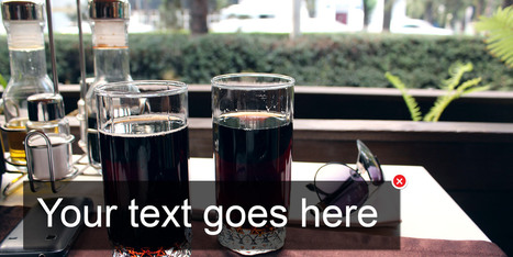 3 Awesome Ways to Add Text & Designs to Your iPhone Photos | iPhoneography: Techniques and Apps | Scoop.it