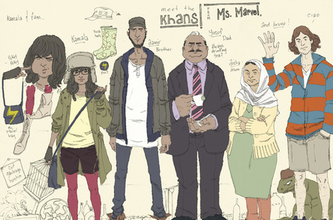 Marvel Comics debuts female Muslim superhero | Young Adult and Children's Stories | Scoop.it