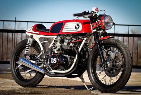 M&M Honda CB550 Café Racer   Vintage et Café Racer   Scoop.it