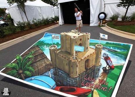 3D Street Art – 27 trompes-l'oeil de 3D Joe and Max ! | Ufunk.net | Graphisme et Design | Scoop.it
