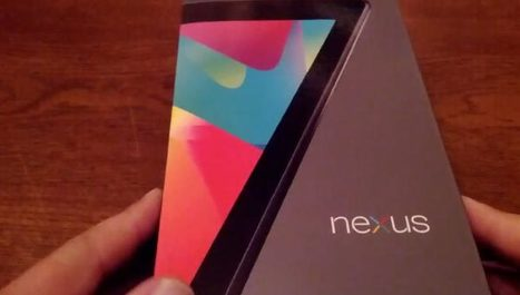 32GB Nexus 7 tablet breaks embargo with price - Product Reviews | Anything Mobile | Scoop.it