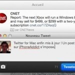 Twitter for Mac s'adapte à l'écran Retina, parle français et revoit son ... | Apple_Addict | Scoop.it