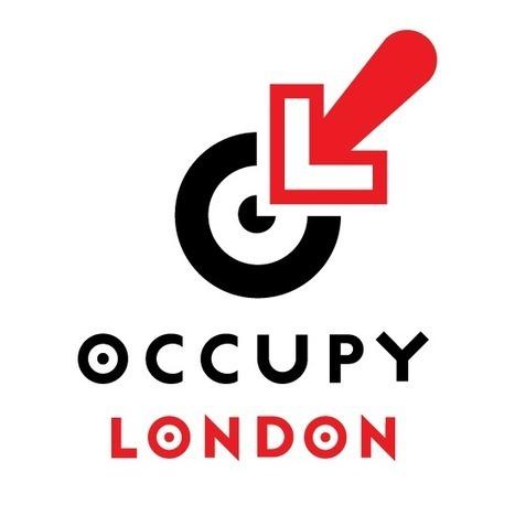 Occupy London Logo by Barnbrook Design | Corporate Identity | Scoop.it