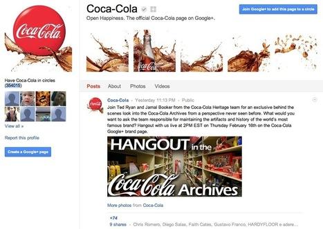 Top 10 des pages de marque Google+ | SocialWebBusiness | Scoop.it