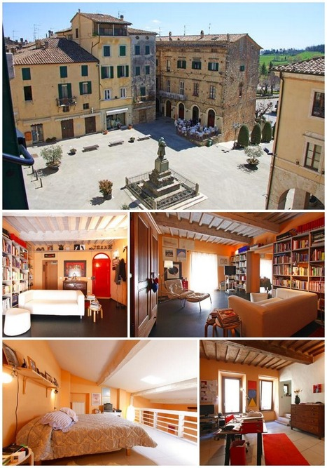 A romantic, historic apartment and a slice of Italian city life are irresistible to foreign buyers | Tuscan Properties | Italia Mia | Scoop.it