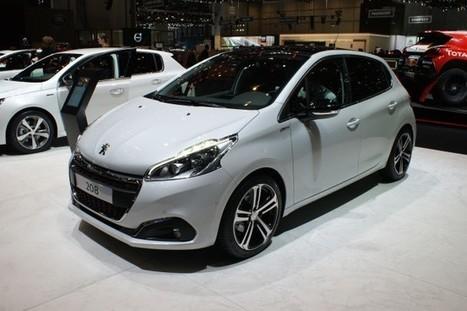 Peugeot 208 Facelift Bows at Geneva - SpeedLux | Technology | Scoop.it