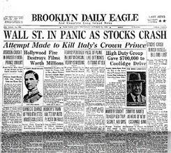 Website on historical topic #3:  Stock Market Crash of 1929 | Stock Market Crash! | Stock Market Crash of 1929 (AV) | Scoop.it