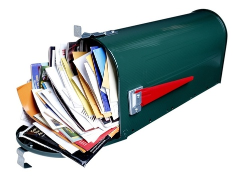 Research: Marketers Decreasing Direct Mail Spend…Sort Of | Business 2 Community | Creative Direct Mail | Scoop.it