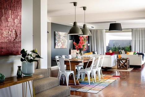 Un intérieur coloré et industriel en Australie | PLANETE DECO a homes world | Céka décore | Scoop.it
