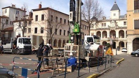 Opération carottage à Vienne (Isère), pour étudier la faisablilité d'un ... - Francetv info | Tourisme en pays viennois | Scoop.it