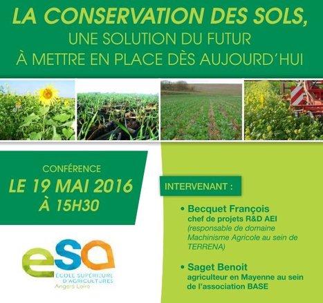 Conférence 19 mai 2016 à 15h30 à Angers (49)Conservation des sols : une solution du futur à mettre en place dès aujourd'hui   AC Agriculture de Conservation   Scoop.it