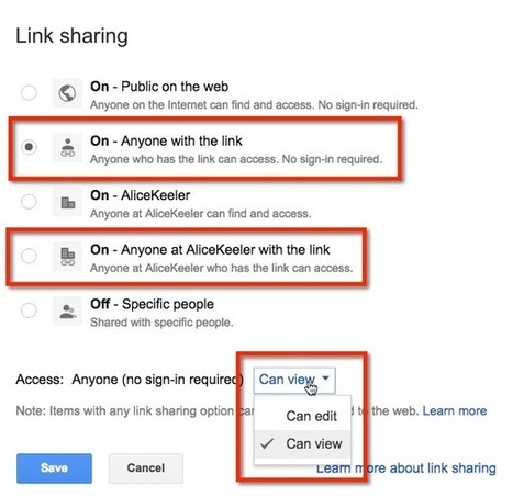 Google Classroom: Sharing or Submitting a Google Drive Folder | Web 2.0 for Education | Scoop.it