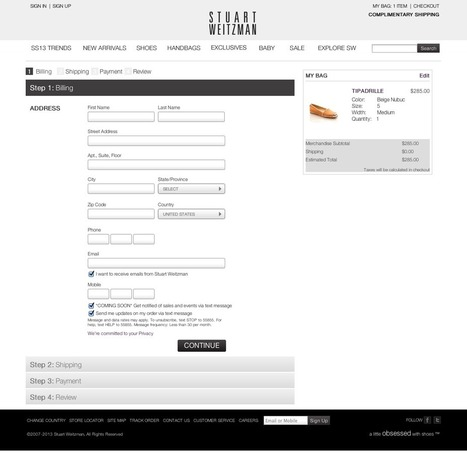 Mobile Demystified   How to Nail Mobile Marketing: Stuart Weitzman CTAs   Triangle Business Marketing   Scoop.it