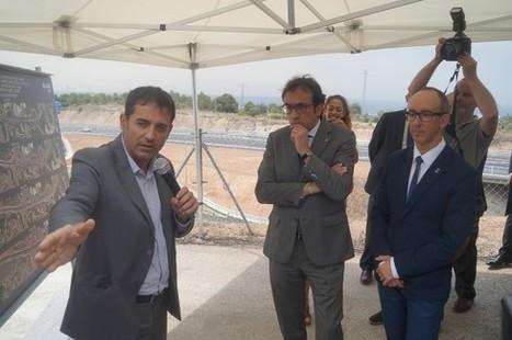 Josep Rull inaugura el nou accés de l'autopista C-32 a Sitges | #territori | Scoop.it