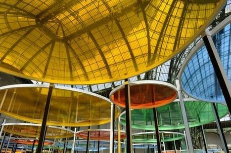 Eccentric(s) by Daniel Buren | Art Installations, Sculpture, Contemporary Art | Scoop.it
