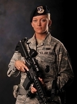 Female Airman Seeks to 'Make a Difference' | Custom Military Rings | Scoop.it