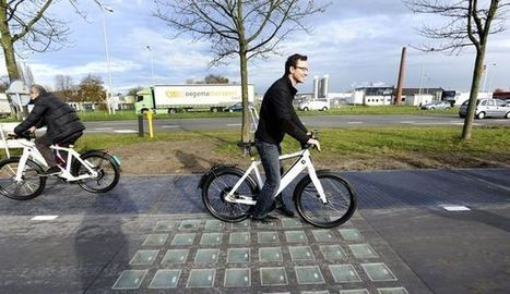 Les Pays-Bas dévoilent la première piste cyclable solaire au monde - LExpress.fr   Chronique d'un pays où il ne se passe rien... ou presque !   Scoop.it