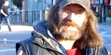WATCH: Homeless Man Volunteering For Video Project Calls Out Technology For Stealing Our Souls | Empathy and Compassion | Scoop.it