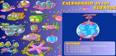 Calendario de los cuentos | Español para los más pequeños | Scoop.it